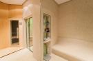 Sauna steam room home tiled Villa Olivia Lloret de Mar Girona