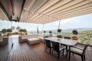 Covered terrace balcony view Villa Olivia Lloret de Mar Girona