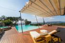 Swimming pool sun terrace Villa Olivia Lloret de Mar Girona