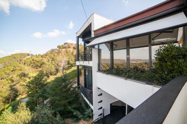 Facade Villa Olivia Lloret de Mar Girona