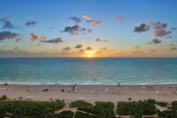 Beach view Fasano Shore Club South Beach Miami Florida