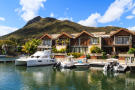 Duplex homes with yacht berths at La Balise Marina in Mauritius