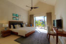 Duplex show home bedroom at La Balise Marina in Mauritius