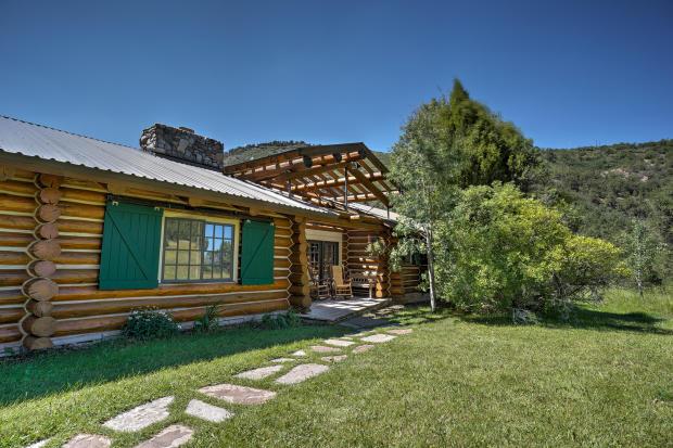 Garden facade Cascabel Ranch Colorado