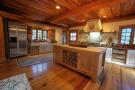 Kitchen wood floor ice machine Cascabel Ranch Colorado