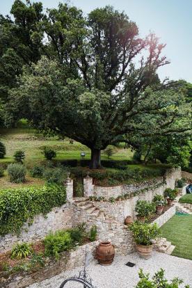 Garden Villa La Quercia Lucca Tuscany