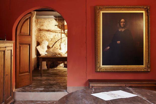 Parlour Villa La Quercia Lucca Tuscany