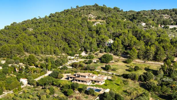 Aerial Finca Son Romani Mallorca
