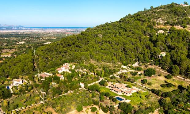 View Finca Son Romani Mallorca