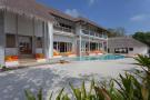 Swimming pool sun terrace Villa Sunrise at Soneva Fushi Maldives