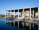 Swimming pool sun terrace ocean sea view Amanzoe Peloponnese