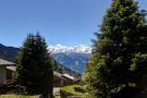 Mountain views from Chalet Lievre in Verbier