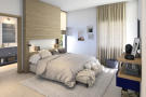 CGI of double bedroom with en suite at St Antoine Mauritius