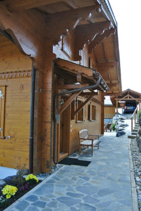 Entrance to Chalet Alina