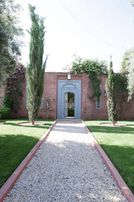 Entrance to Riad - Villa Jardin