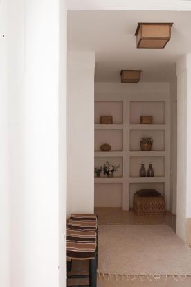 Bookshelves at Villa Jardin
