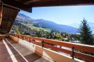 Balcony view Chalet La Courtiliere Verbier