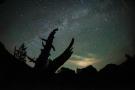Start night sky