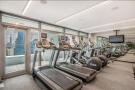 Communal gym at 123 Washington Street