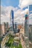 Views towards One World Trade Center from 123 Washington Street