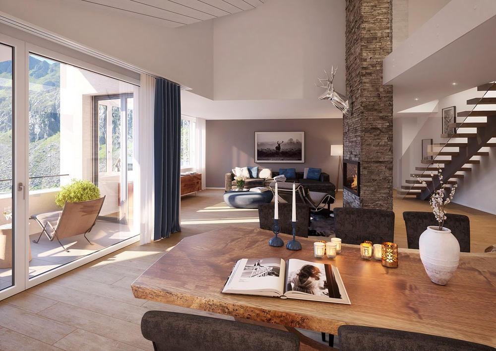 Apartment for sale in Andermatt, Uri...