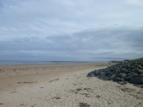 Hauxley Beach Looking towards Druridge Bay