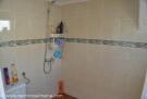 Outside shower room