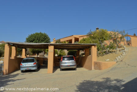 Carport for two cars
