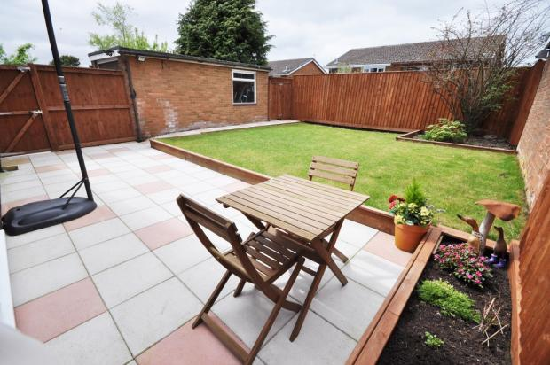 Patio And Lawn To...