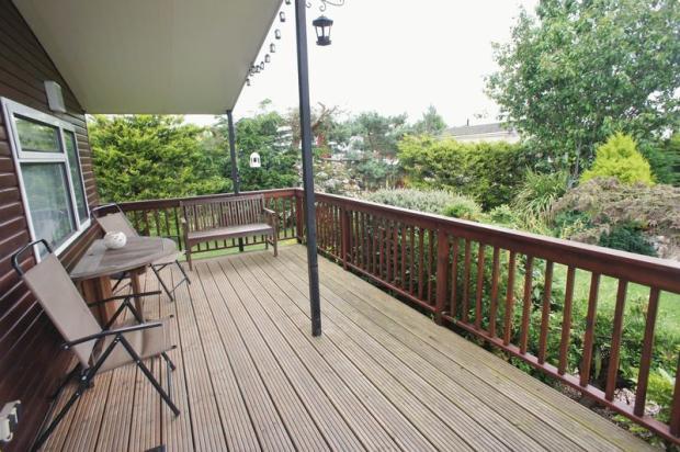 Decked veranda
