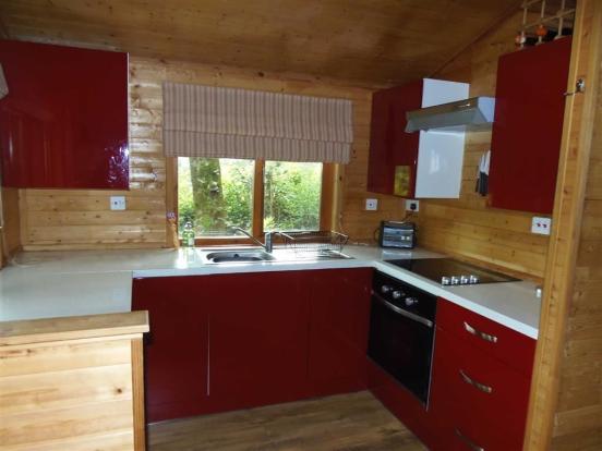 Galley Kitchen Area