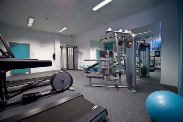 On-site gymnasium