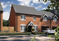 4 bed new property for sale in Stanford Road, Shefford...