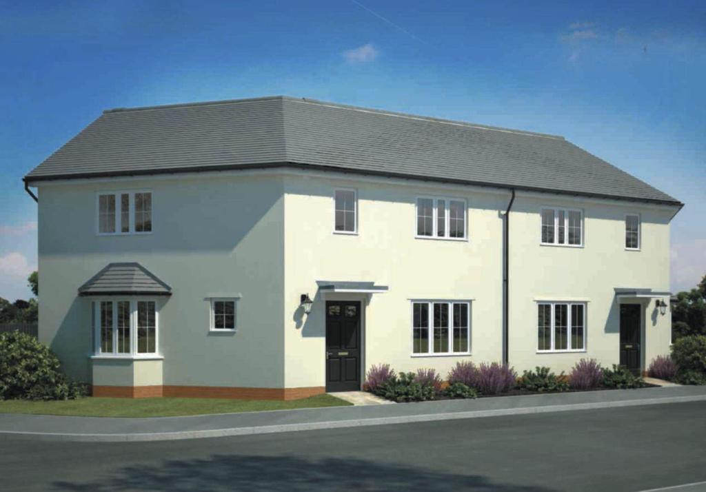 3 bedroom end of terrace house for sale in pinn hill for Terrace exeter