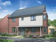 4 bed new property for sale in Berryfields, Fields Road...