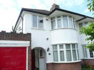 South semi detached house to rent