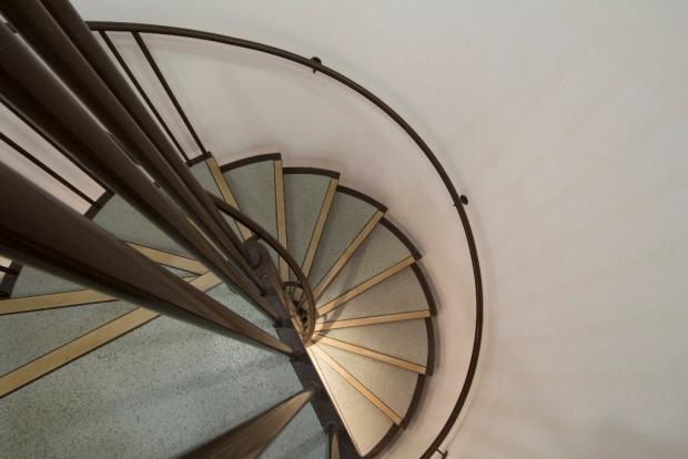 Spiral Stair down