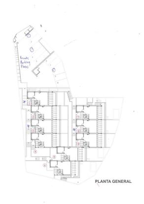 Layout of community, this is house number 8