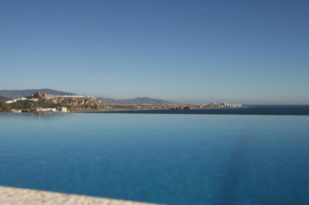 View to die for from within the infinity pool