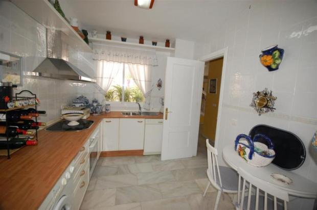 You can see the sea from the kitchen!