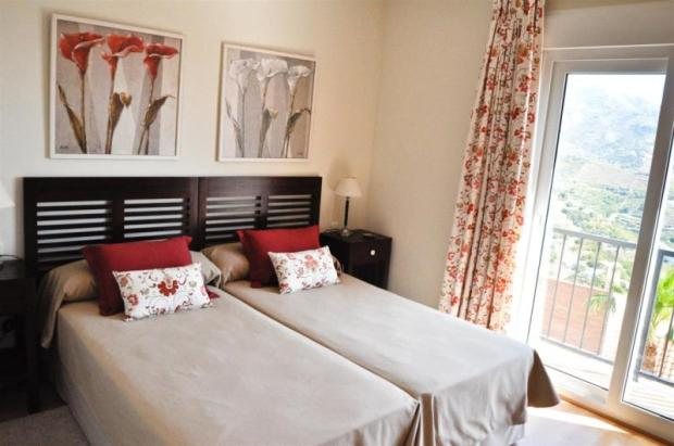 1 of 4 luxurious bedrooms in this quality villa
