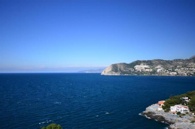 Very nice sea views from the plot