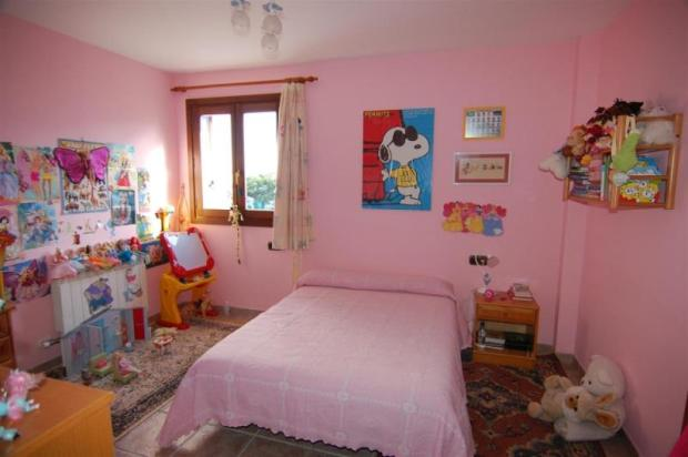 Bedroom 2, with sea view,