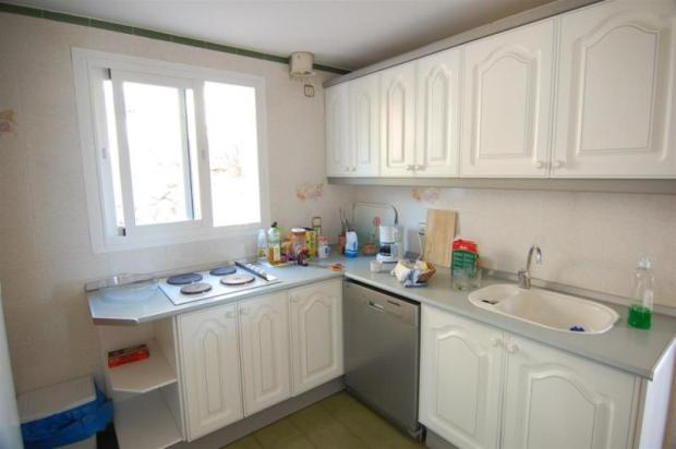 Kitchen is separate but is close to dining room