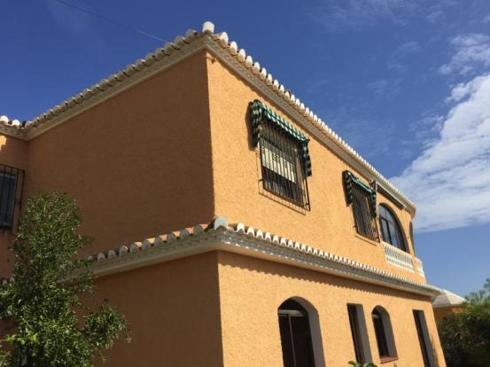Facade of this villa in Andalucia Spain