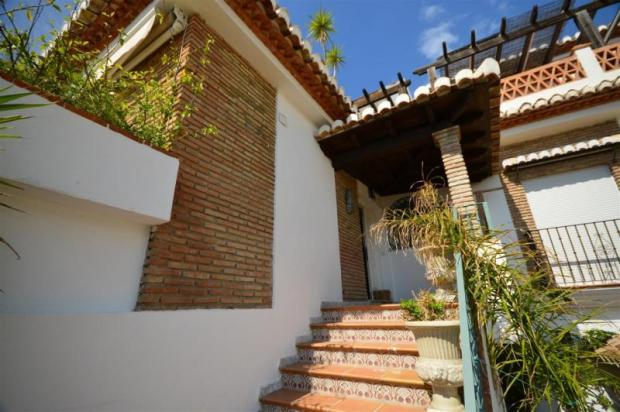 Entrance to this Andalucian house