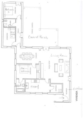 Layout of this house built all on one level