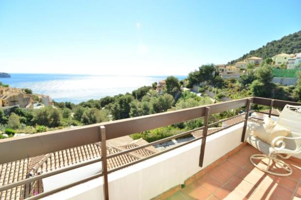 You love relaxing on this terrace with these views