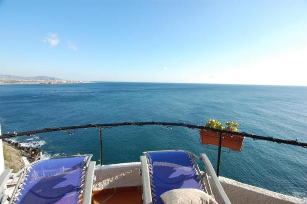 Watch the dolphins play from the lounge terrace