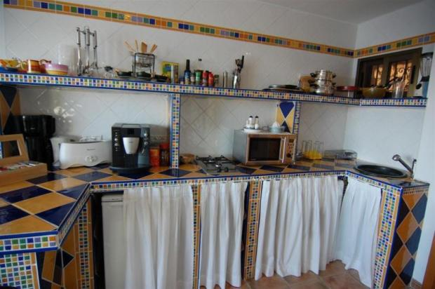 Kitchen in the guest apartment